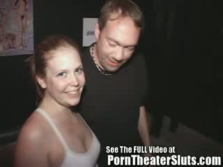 19 y/o Tammi Gets Her ass Fucked In Well In A Public Porn Cinema