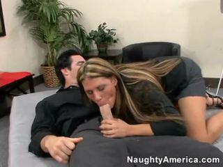 Szexi meztelen női kap hardcor fasz
