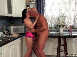 brunette tube, nieuw hardcore sex film, heet orale seks actie