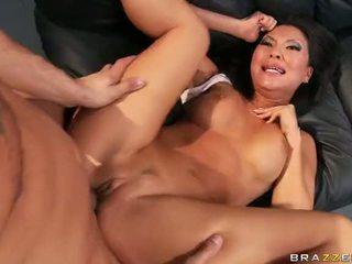 Asia bintang porno asa akira gets a double penetration video