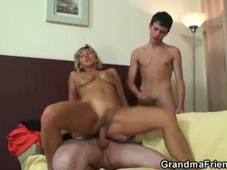 oud scène, alle 3some film, alle grootmoeder