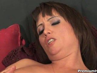 echt brunette seks, kijken reverse cowgirl scène, doggy style porno