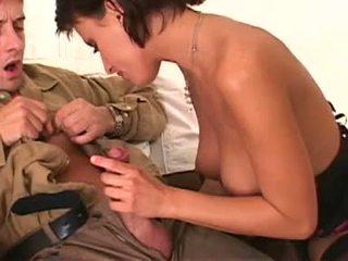 Breasty Chick Veronica Vanoza Blowing 2 Massive Pricks
