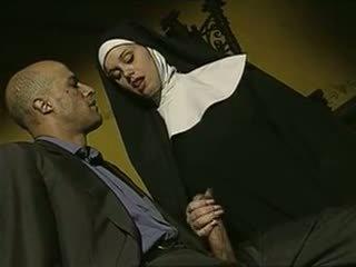 seksowny, paskudny, włoski, nuns
