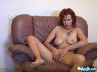 Hot Couple Fucking on Sofa