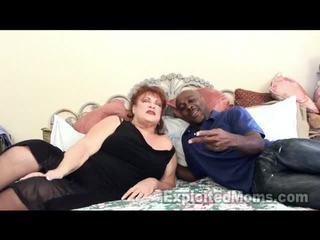 おばあちゃん receives bawdy cleft pounded バイ 大 ブラック コック