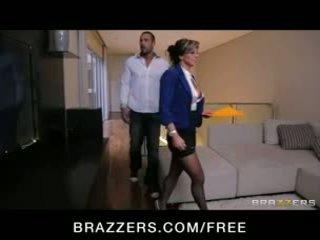 Esperanza gomez - sexy spaans echt estate agent fucks haar klant naar maken een verkoop