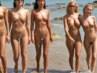 Нудисти плаж мода шоу 2