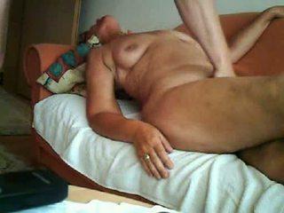 64yo granny orgasm on camera Video