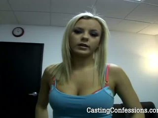20 Year Old Brie At First Porn Casting Ever Video