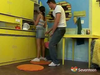 vers tiener sex video-, kwaliteit seks in de tieten deel, nominale love in the kitchen neuken