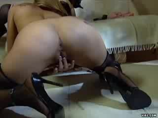 Ashley Long and Pason in Three Some action