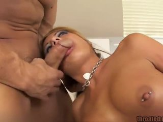 Holly Taylor Throated And Cum Faced