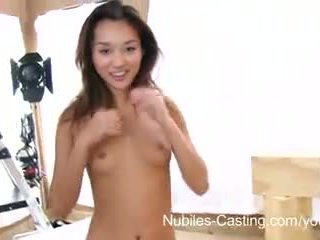 Nubiles casting - squirting asia rumaja really wants this job
