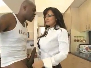 hot mature mom pumping on top of a black cock