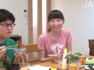 see brunette, japanese fun, cumshot fresh