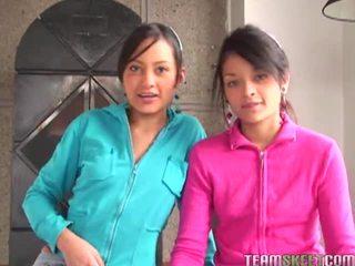 Tami FabiAna And Diana Delgado In Hawt Foursome