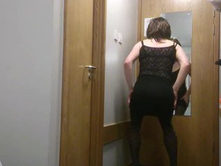 crossdresser, solo sex, masturbation sex