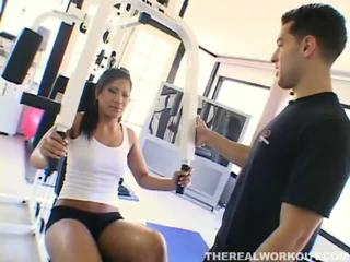 Compilation Of Christina Aguchi, Megan Jones, Krissy Lynn By The Real Workout