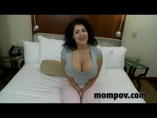 big tit milf sucks and fucks babe cock