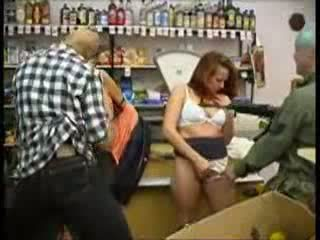 Teen Abused At Mini Market (fantasy) Video