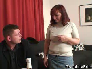 heet oud tube, grootmoeder video-, gratis oma tube