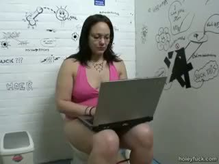 Unexpected Fuck On The Toilet