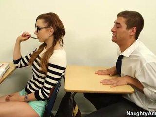 Graceful Bust Trainee Lexi Belle Sits Onto Boner