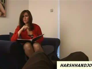Paige Turnah gives handjob