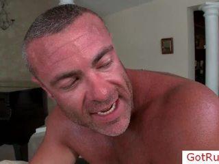 Massage pro chevauchée son clients 10 pounder