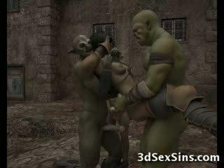 Ogres homosexual kuum 3d babes!