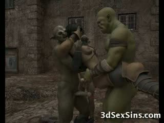 Ogres homosexual हॉट ३डी लड़कियां!