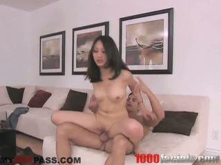 Oriental Slut Gets Blasted