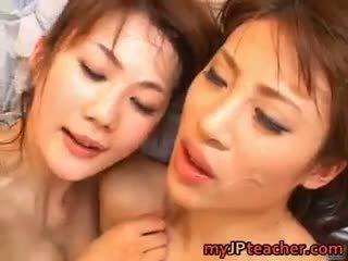 Junna Aoki And Erika Kirihara Hot Part4