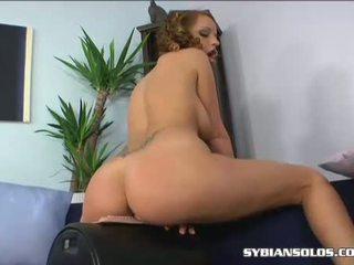 Breasty Babe Carmen Gemini Riding A SyBian