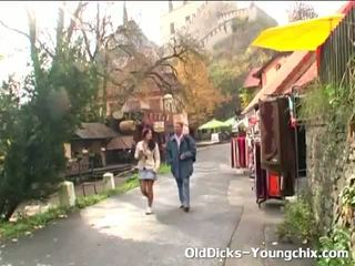 Old Guy Seduces Young Tourist