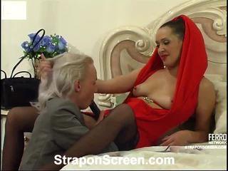Helena und randolph mindblowing strapon film