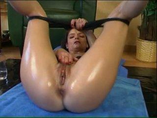 brunette porn, white porn, 30 porn, spreading porn