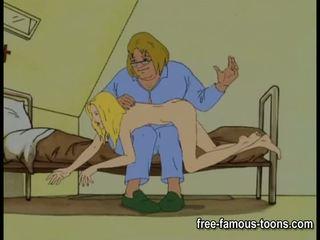 Innocent মেয়েরা seduced এবং spanked