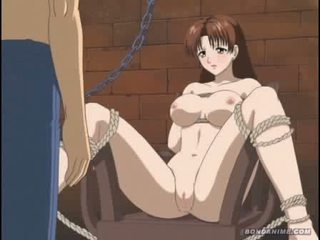 brunetta, cartone animato, hentai
