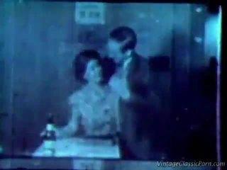 een retro porno film, vintage sex kanaal, meer retro sex film