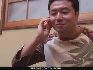 japonês, quente oriental verificar, amador