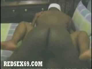 Ebony Chucky Hoe Let gf shaft Fuck While Main shaft Work