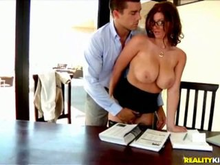 vers grote lullen vid, alle office sex neuken, uniform tube