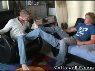 plezier college seks, student film, meer homo- video-