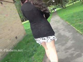 Naughty Flashing Female Kacie James Exposing Chest Open Air And Exhibitionist Love Being Wondrous In Public