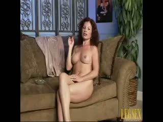 brunette video-, kindje film, vers pornstar