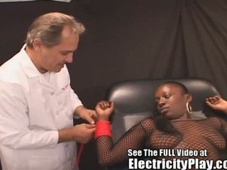 Wild Ebony Slut Shocked and Screwed!