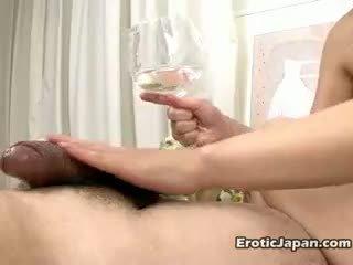Sexual Japanese Young Doll Rui Natsukawa Massaging Two