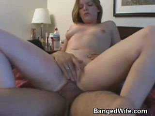 Married Man Watches Another Guy Fuck His Wife